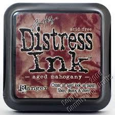 Distress Ink - Aged Mahogany