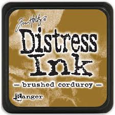 Distress Ink - Brushed Courdoroy