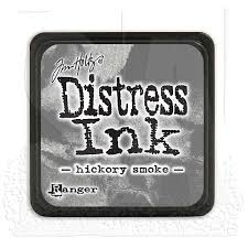 Distress Ink - Hickory Smoke