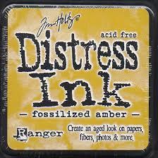 Distress Ink - Fossilised Amber