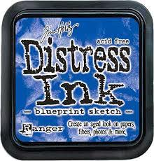 Distress Ink - Blueprint Sketch