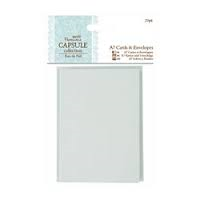 Docrafts Papermania Capsule Collection Eau de Nil  A7 Cards and Envelopes 2