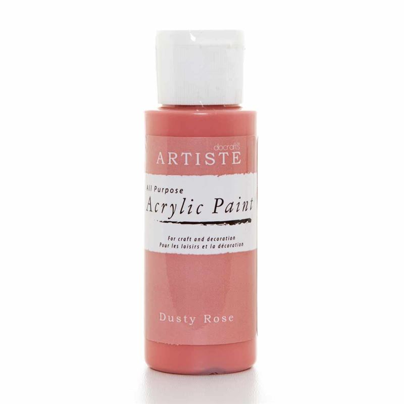 Artiste Acrylic Paint - Dusty Rose