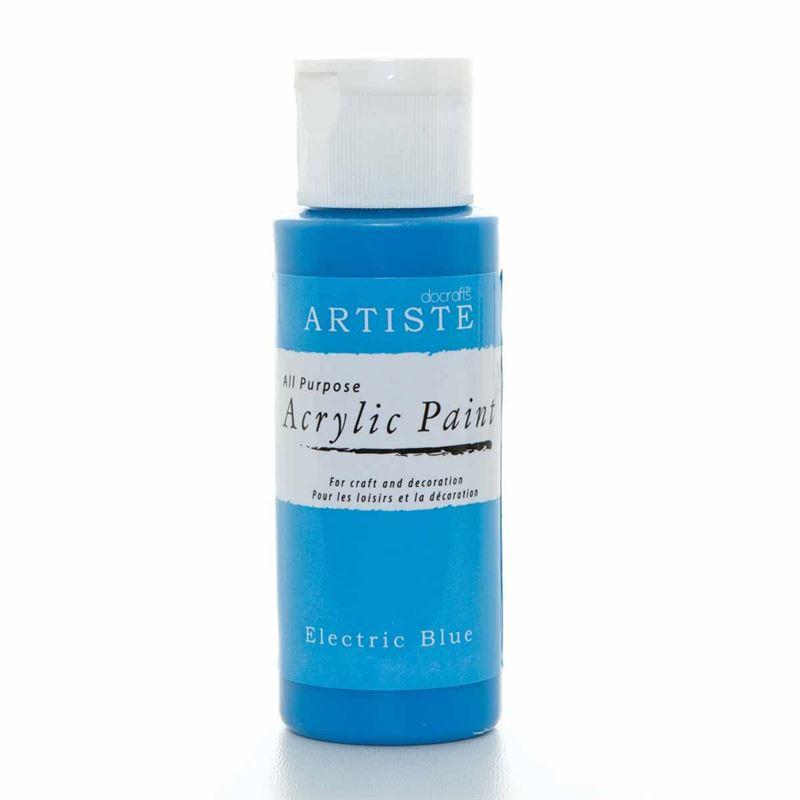 Artiste Acrylic Paint - Electric Blue