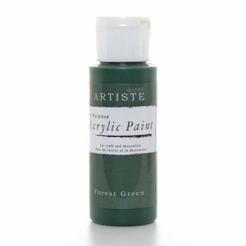 Artiste Acrylic Paint - Forest Green