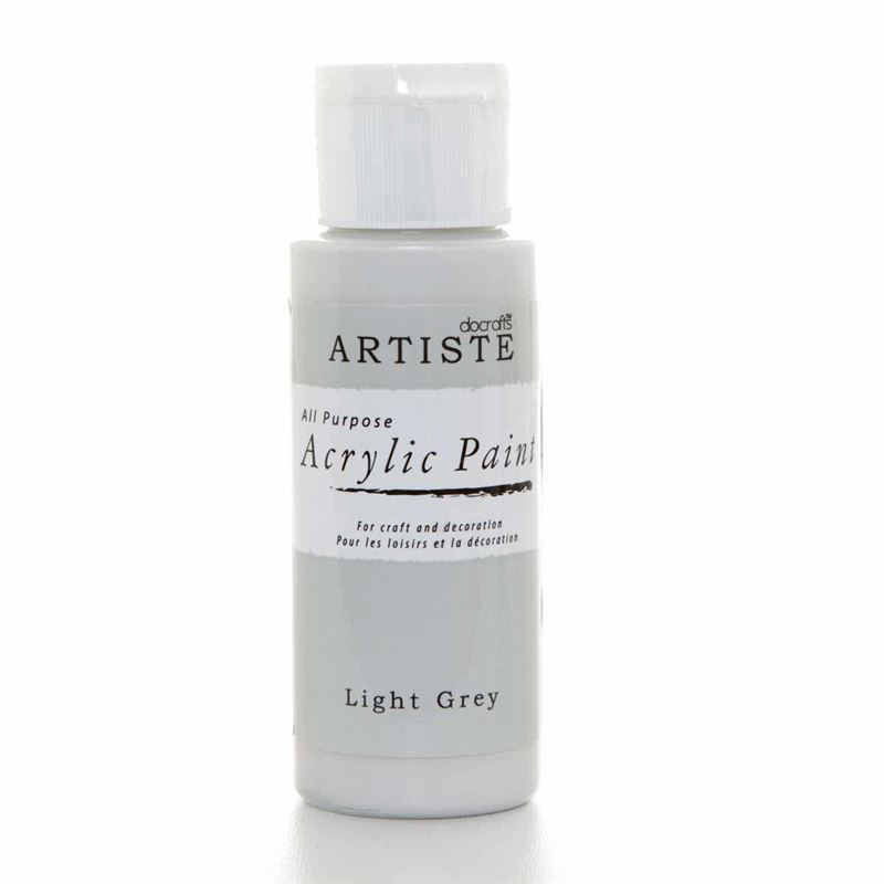 Artiste Acrylic Paint - Light Grey
