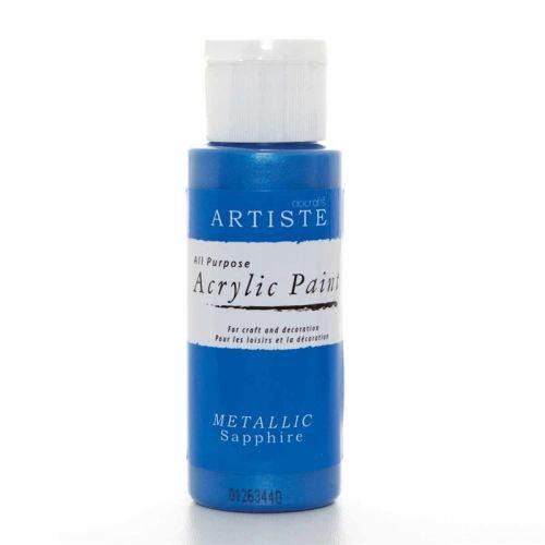 Artiste Acrylic Paint - Metallic Sapphire