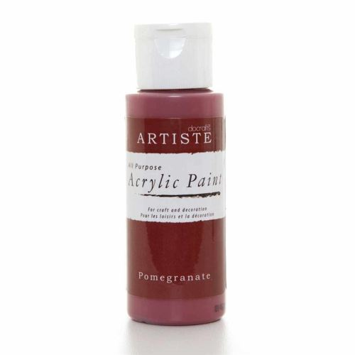 Artiste Acrylic Paint - Pomegranate