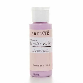 Artiste Acrylic Paint - Princess Pink