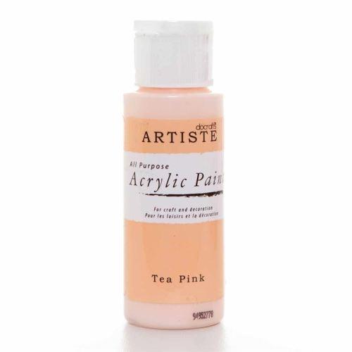Artiste Acrylic Paint - Tea Pink