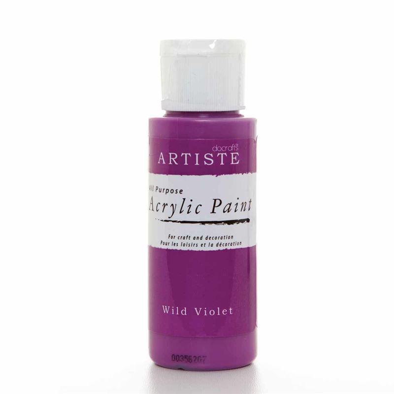 Artiste Acrylic Paint - Wild Violet