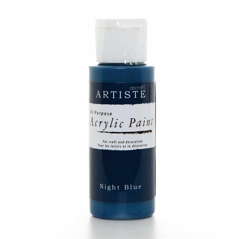 Artiste Acrylic Paint - Night Blue