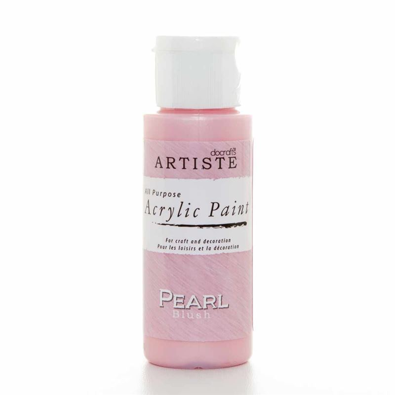 Artiste Acrylic Paint - Pearl - Blush