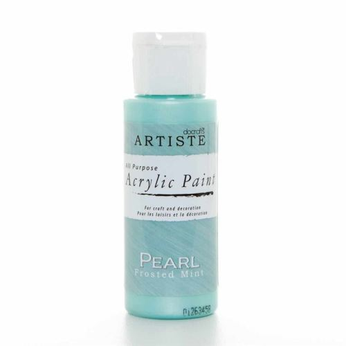 Artiste Acrylic Paint - Pearl - Frosted Mint
