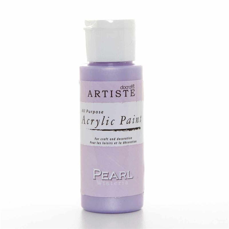 Artiste Acrylic Paint - Pearl - Wisteria