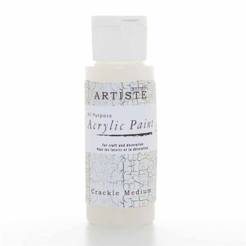 Artiste Acrylic Paint - Crackle Medium