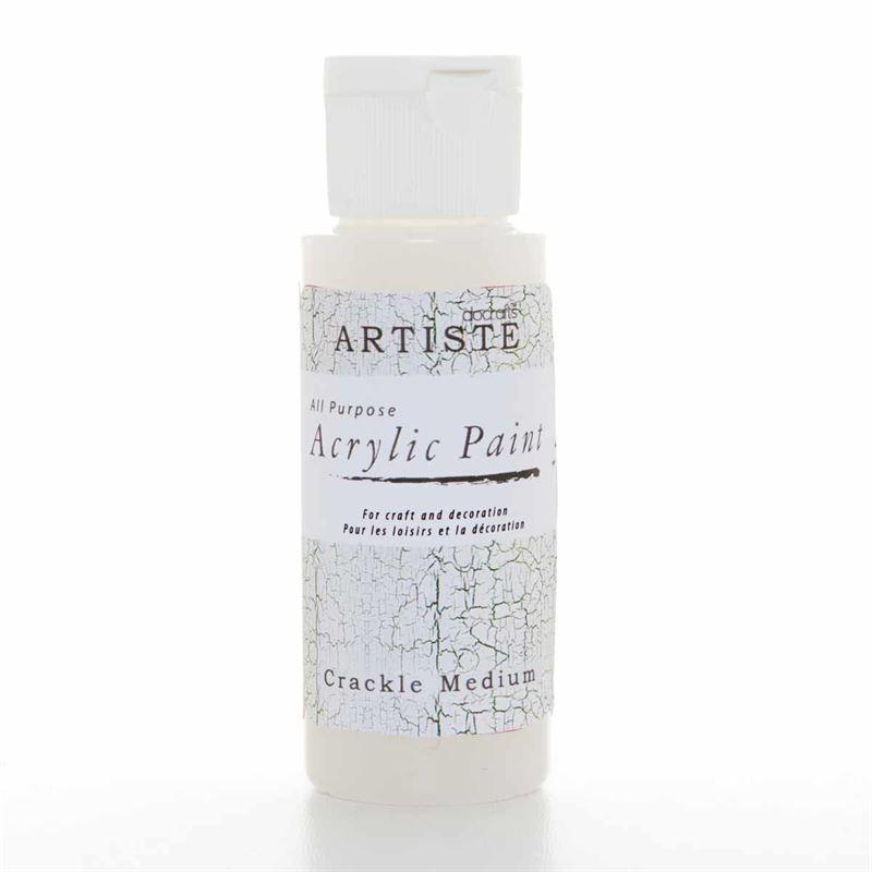 Artiste Acrylic Paint - Crackle Medium