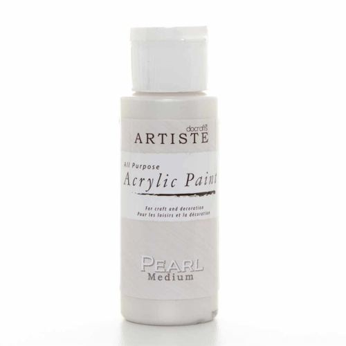 Artiste Acrylic Paint -Pearl Medium
