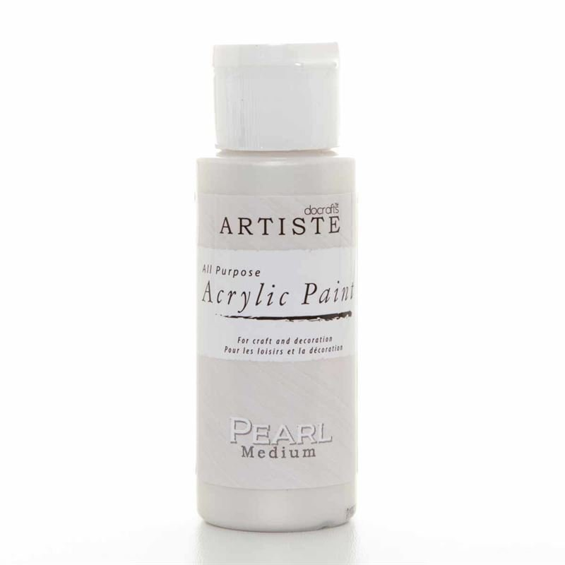 Artiste Acrylic Paint -Pearl Medium