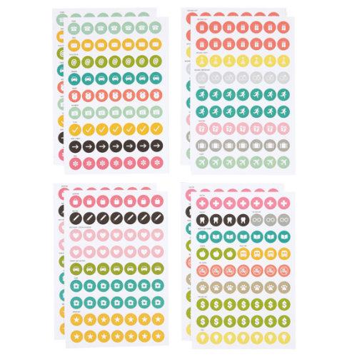 Carpe Diem Calendar Stickers
