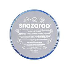 Snazaroo classic face paint - Light Grey