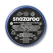 Snazaroo classic face paint - Black