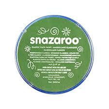 Snazaroo classic face paint - Grass Green