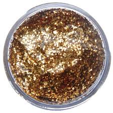 Snazaroo Glitter Gel Red Gold
