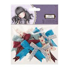 Santaro Large Ribbon Bows - 12pcs