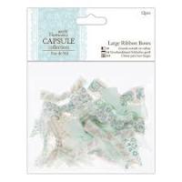Capsule Collection Eau de Nil Large Ribbon Bows 12pcs