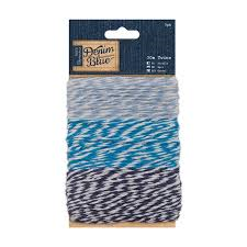 Denim Blue 30m twine (3pk)
