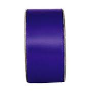 Everyday Ribbons 3m Wide Satin - Deep Purple