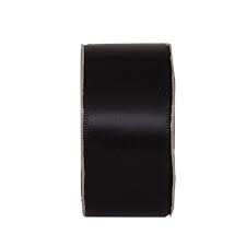 Everyday Ribbons 3m Wide Satin - Jet black