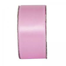 Everyday Ribbons 3m Wide Satin - soft pink