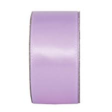 Everyday Ribbons 3m Wide Satin - lilac mist