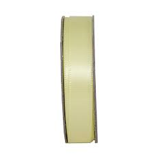 Everyday Ribbons 3m glitter satin - lemon drop
