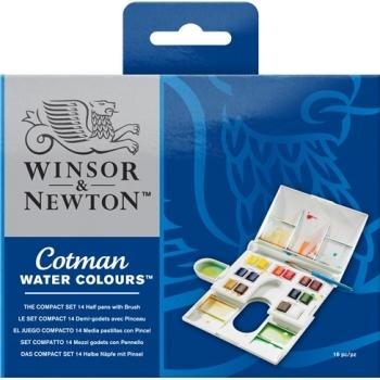 Winsor & Newton - Cotman Water Colours - The Compact Set