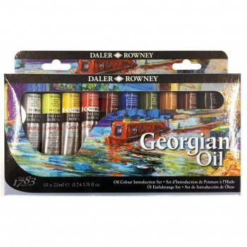 Georgian Oil Introduction Set - Daler Rowney