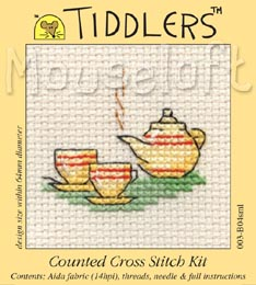 Tiddlers Cross Stitch - Tea for Two