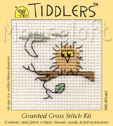 Tiddlers Cross Stitch - Owl