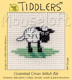 Tiddlers Cross Stitch - Sheep