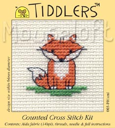Tiddlers Cross Stitch - Little Fox