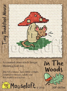 In the Woods - Tiny Toadstool Mouse