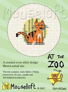 At the Zoo - Tiger