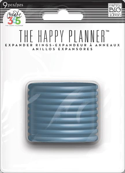 Create 365 The Happy Planner Expander Rings- Blue