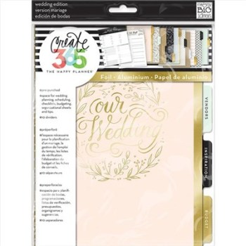 Create 365 The Happy Planner Extension Pack-Wedding