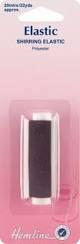 Hemline Elastic - Shirring Elastic - Black