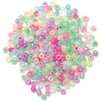 The Craft Factory Seed Beads - Pastel Multi