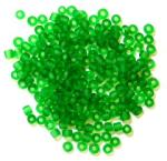 The Craft Factory Frosted Rocailles Beads - Green