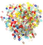 The Craft Factory Rocailles Beads - Multi